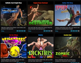 Gay sex online game